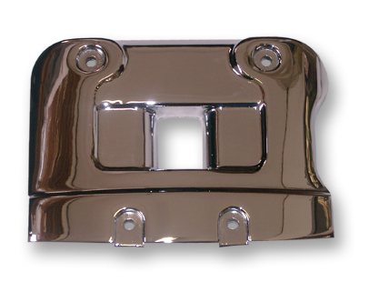 Chrome plated cover